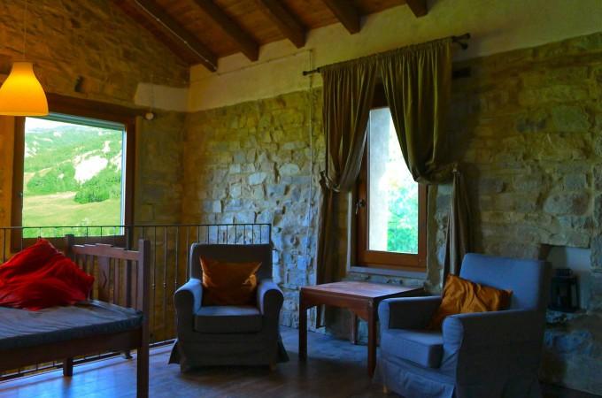 mezzanine view la stalla