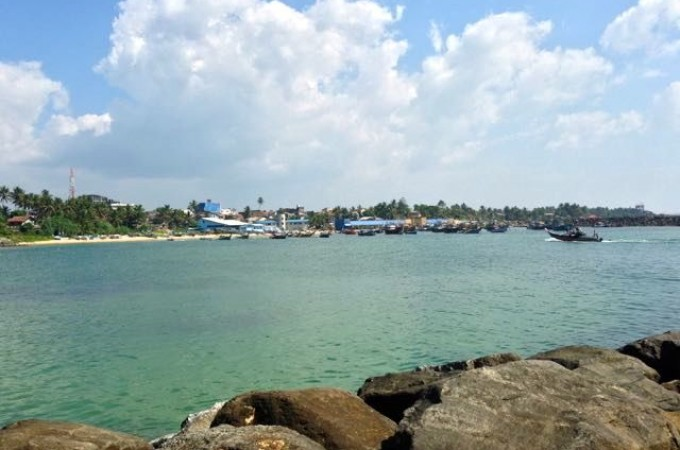 Ambalangoda harbour