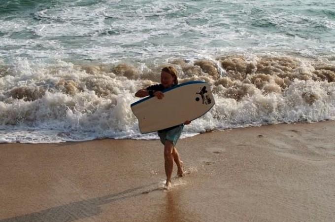 Sal apres surf
