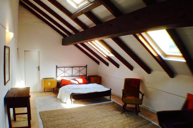 Attic bedroom AP